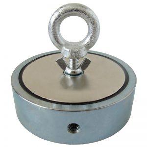 cel mai  puternic magnet pentru pescuitul magnetic 1100 kg